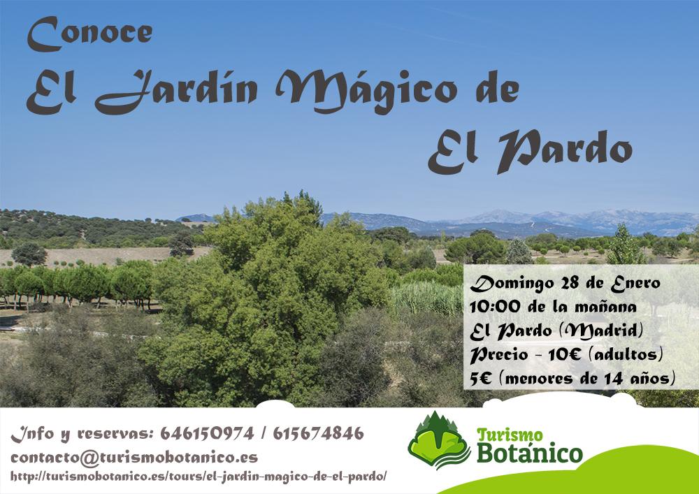 Madrid conoce el jard n m gico de el pardo turismo bot nico for El jardin magico