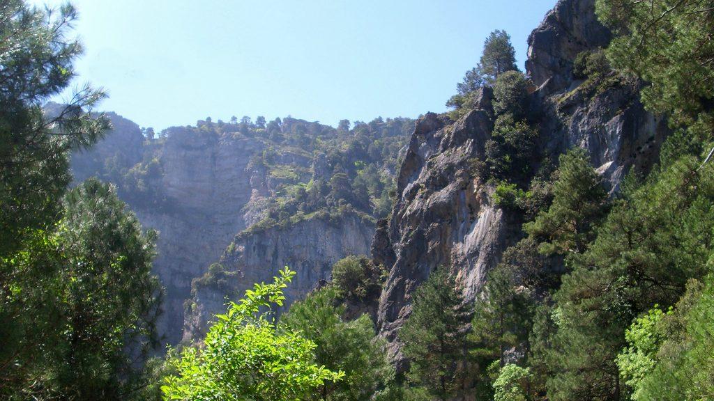 Las formaciones geológicas son un atractivo de los más importantes del Parque. Foto: Álvaro García Valero.