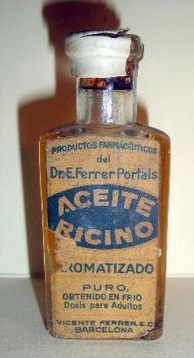 El antiguo Aceite de Ricino. Foto: todocolección.net