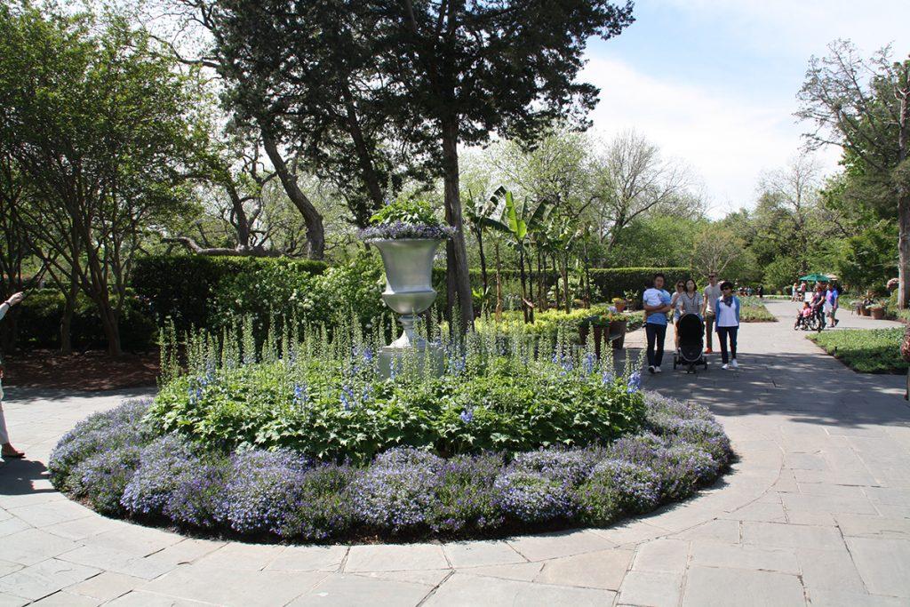 El Arboretum de Dallas, un lugar idóneo para pasear y disfrutar.