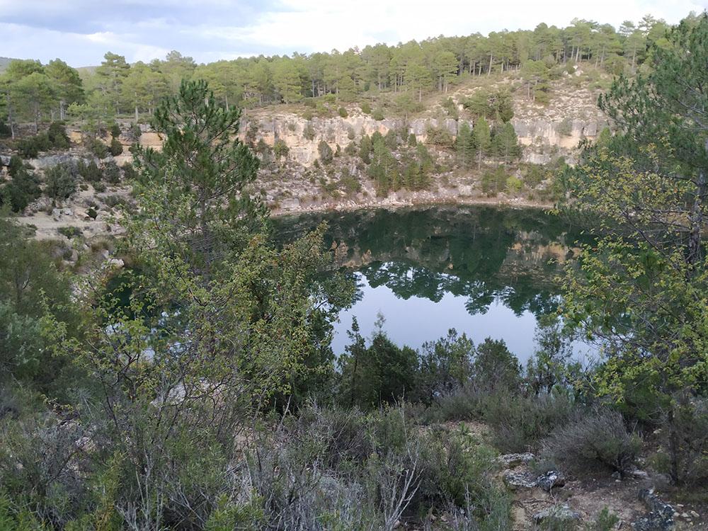Las misteriosas lagunas de Cañada del Hoyo de la Serranía Baja de Cuenca.