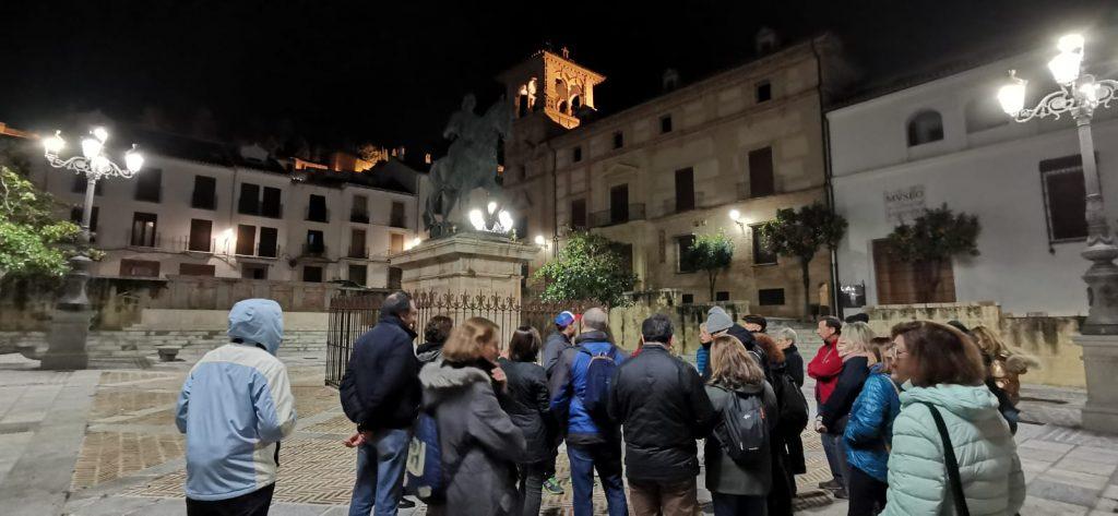 Visita nocturna a Antequera.