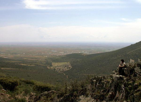 Vista desde la Cruz de Ocaña