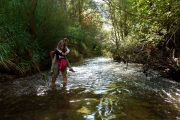 Cruzando el río Mundo