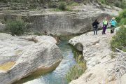 Pozas en el río Moratalla