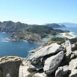 Vista de las Islas Cíes